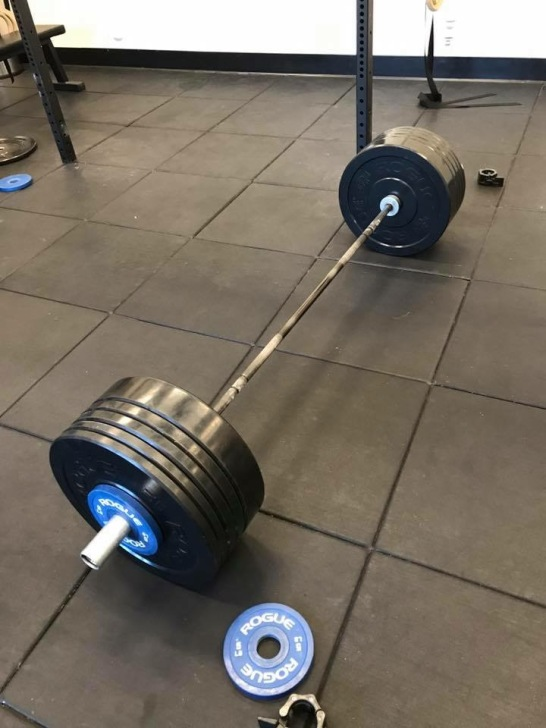 Deadlift 245